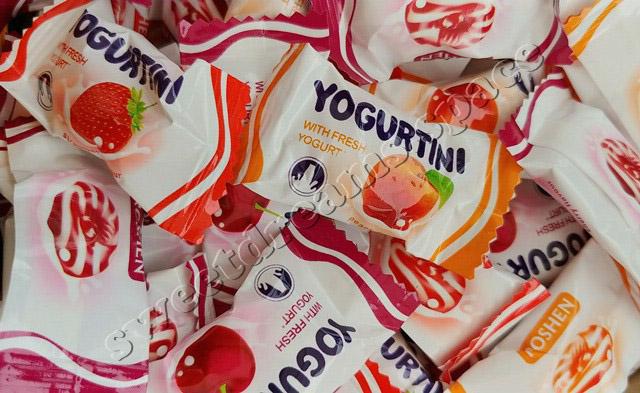Рошен / Roshen Йогуртини / Yogurtini