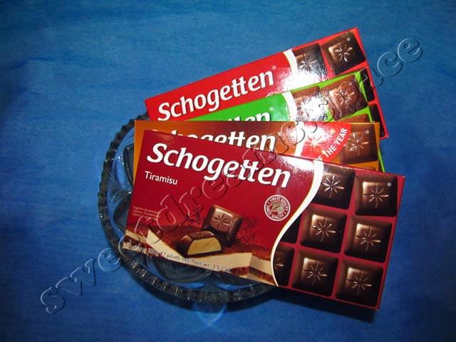Людвиг Шоколад / Ludwig Schokolade Шоколад Шогетте / Schogetten
